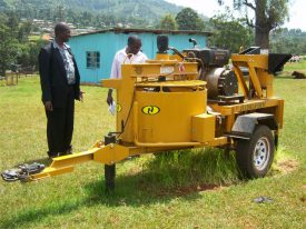 Hydraform Machine for making bricks donated by GOK (1)